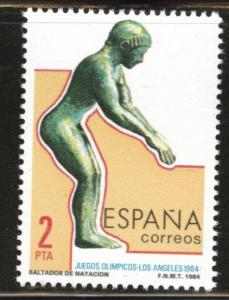 SPAIN Scott 2385 MNH** 1984 summer olympics