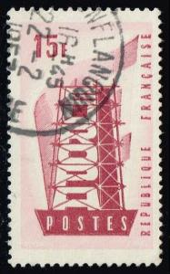 France #805 Europa; Used (0.25)