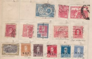 ARGENTINA ^^^^x14 used    CLASSICS + others on page $$@ta842arg