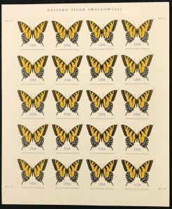 4999   Eastern Tiger Swallowtail    MNH (71¢) sheet of 20    FV $14.20   In 2015