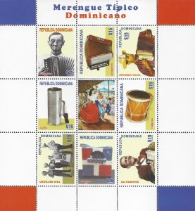 DOMINICAN REPUBLIC 1566 MNH SS [D2]-1