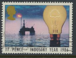 Great Britain SG 1308 - Used - Industry Year