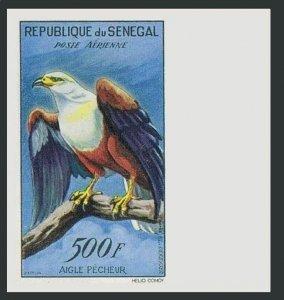 Senegal C30 imperf,MNH.Michel 243. Fish Eagle,1960.