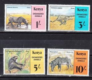 Kenya Scott 355-358 Mint NH (Catalog Value $17.50)