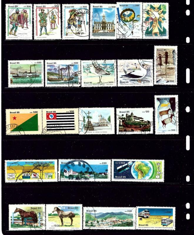 Brazil #2 23 different used stamps
