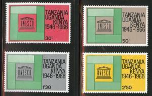 Kenya Ugand Tanganyika, KUT  Scott 168-171 MNH** set