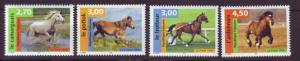 J20353  jlstamps 1998 france set mnh #2672-5 horses