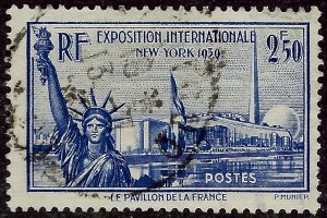 France Sc #373 Used VF SCV$9.50...French Stamps are Iconic!
