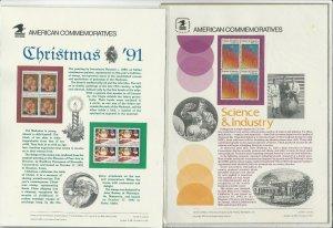 US Stamps /Postage 8 Presentation Sheets MNH F-VF OG  Post Office Sealed
