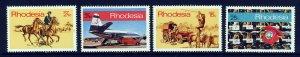 RHODESIA Queen Elizabeth II 1970 Posts & Telecomms Set SG 453 to SG 456 MINT