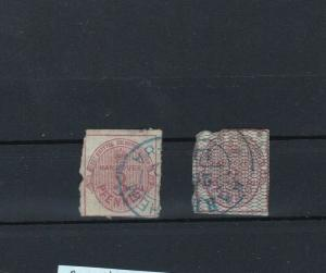 HANOVER 1853 - 1856 3PFENNIG USED STAMPS CAT £1000+