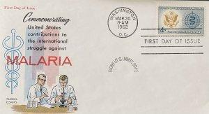 FLUEGEL 1194 US Contributions Against Malaria