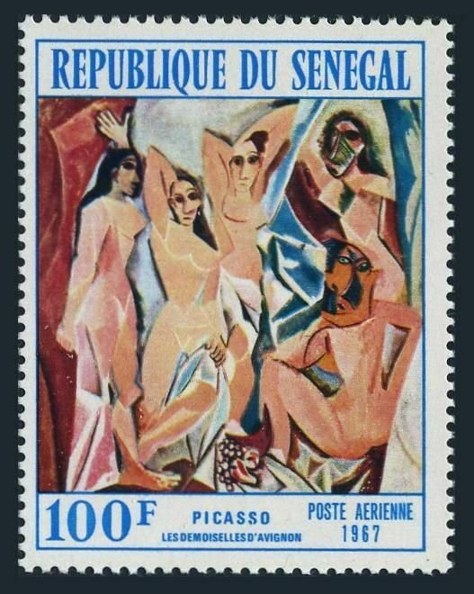 Senegal C59,MNH.Michel 360. The Girl from Avignon,by Picasso,1967.
