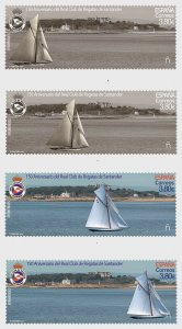 Portugal stamps 2020. - 150th Anniversary Of The Santander Royal Yacht Club - Mi