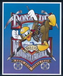 Disney Guyana - MNH Souvenir Sheet Donald Duck #3096 (1996)