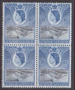 Kenya,Uganda,Tanz.  #108  MNH (4) (1954)  c.v. $6.00