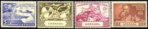 UPU, Universal Postal Union, 75th Anniv., Grenada SC#147-150 MNH set