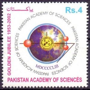 Pakistan. 2003. 1142. Academy of Sciences. MNH.