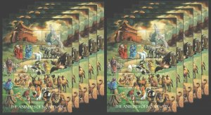 !!! SALE LIBERIA FAUNA THE ANIMALS OF NOAH'S ARK !!! 10 BIG SH MNH