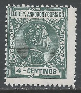 ELOBEY, ANNOBON Y CORISCO 42 MNH 176A-3
