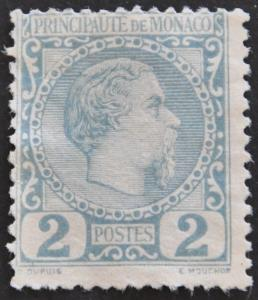 DYNAMITE Stamps: Monaco Scott #2 – UNUSED
