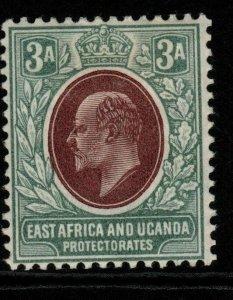 KENYA, UGANDA & TANGANYIKA SG22 1904 3a BROWN-PURPLE & GREEN MTD MINT