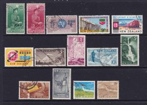 New Zealand a few early QEII better items used