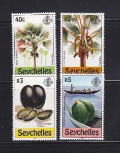 Seychelles 460-463 Set MNH Various (B)