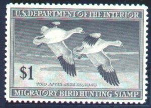MALACK RW14 XF/SUPERB OG NH, nice fresh stamp g744