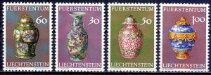 Liechtenstein. 1974. 602-5. Ceramics. MNH.