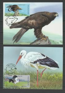 Moldova 2019 CEPT Europa Birds Maximum Card