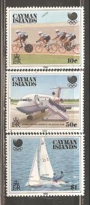 Cayman Islands  SC  598-600  Mint Never Hinged