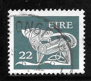 Ireland 472: 22p Stylized Dog, 7th Century Brooch, used, VF