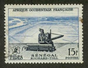 French West Africa 69 Used VF H (sm st ur)