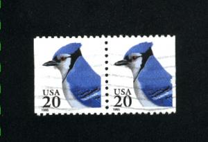 USA #2483   used  pair 1991-95 PD .12
