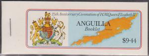 Anguilla - 1978 Coronation Complete Booklet Back Cover A VF