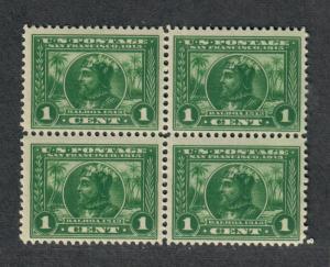 US Sc#397 M/NH/F-VF, Block Of 4, Cv. $140