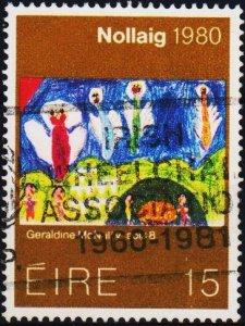 Ireland. 1980 15p S.G.472 Fine Used