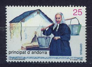 ANDORRA SPANISH 1992 MNH SC.216 Lifestyle