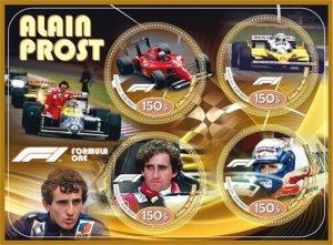 Stamps. Cars. Formula 1 Set 2 sheet perforated