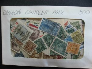 Canada gambler mixture (duplication, mixed condition) 500 1900s to 1940s