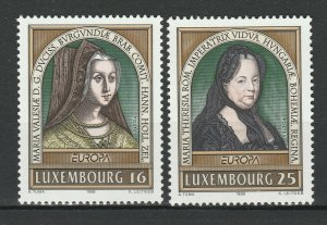 Luxembourg 1996 CEPT Europa 2 MNH Stamps