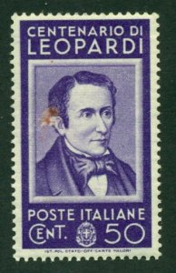 Italy 1937 # 391 MH** SCV(2020)=$1.60