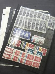 EDW1949SELL : CROATIA Very clean all VF MNH grouping of Cplt sets Scott Cat $643