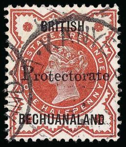 Bechuanaland Scott 52 Gibbons 40 Used Stamp