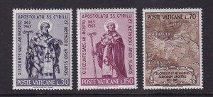 Vatican City #369-371 MNH CV$0.95