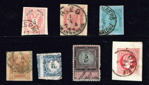 AUSTRIA STAMP USED STAMP COLLECTION LOT