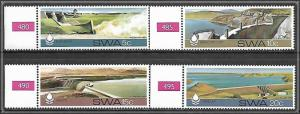 South West Africa #467-470 Desert Water Conservation Complete Set MNH