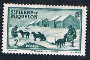 St Pierre & Miquelon 172 MLH Dog Team (BP6419)