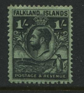Falkland Islands KGV 1929 1/ mint o.g.